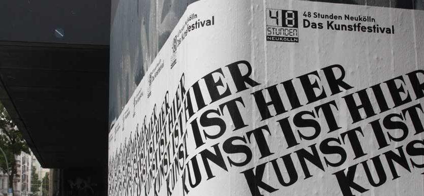 Kunstfestival: 48 Stunden Neukölln