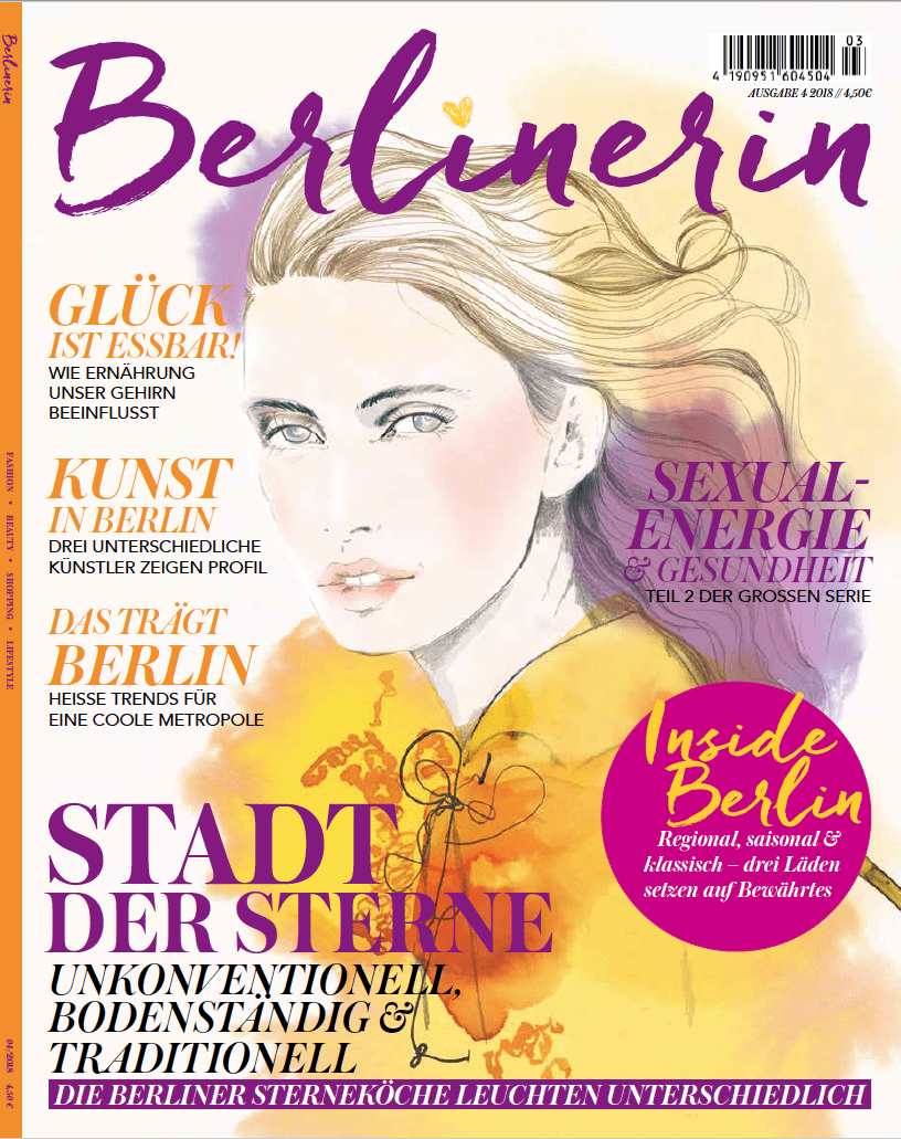 Die neue Ausgabe der Berlinerin ab sofort im Zeitschriftenhandel!