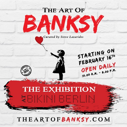 Ausstellungstipp: The Art of Banksy