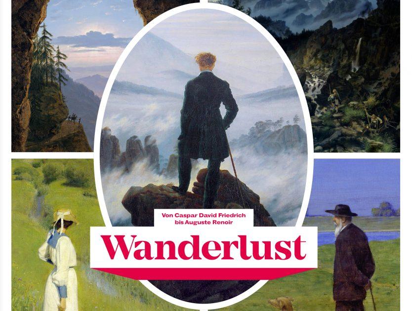 Ausstellungstipp: Wanderlust. Von Caspar David Friedrich bis Auguste Renoir