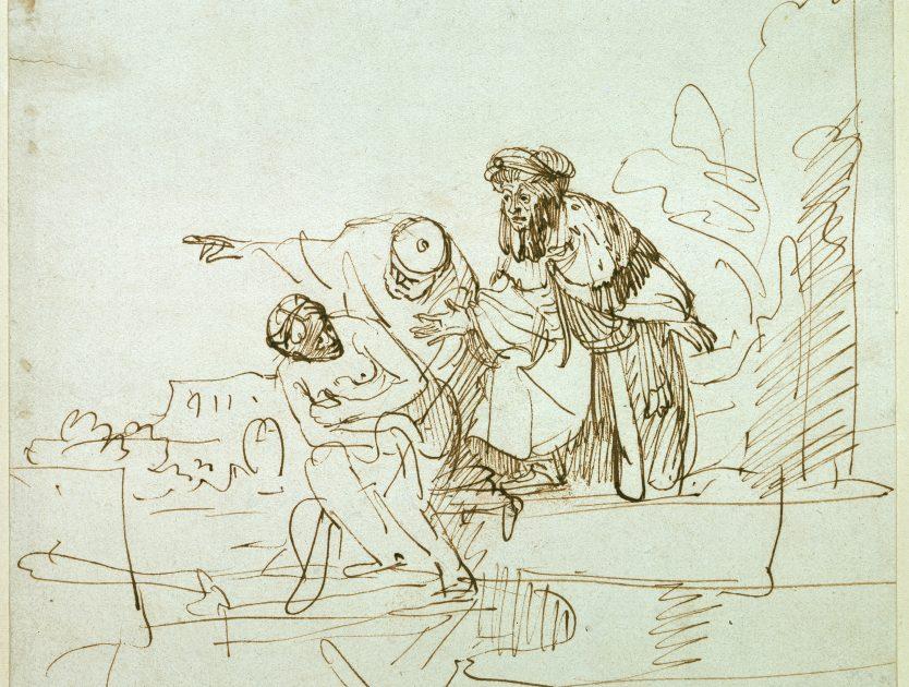 """Kunst in der Hauptstadt: """"Aus Rembrandts Werkstatt. Zeichnungen der Rembrandtschule"""""""