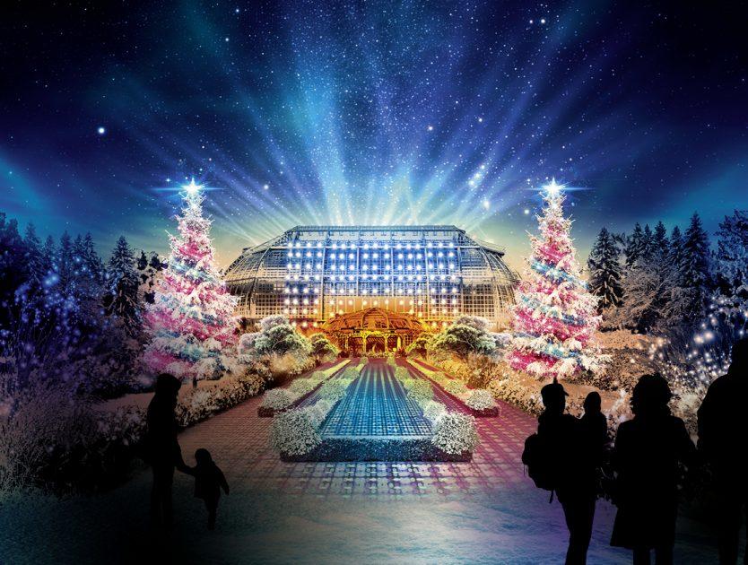 Lichterglanz & Weihnachtsfeeling im Christmas Garden Berlin