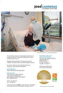 Für den guten Zweck: Unterstützen Sie die José Carreras Leukämie-Stiftung