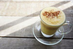 Food-Trends: Die berühmte Goldene Milch mit Kurkuma.
