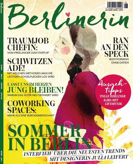 Berlinerin März Ausgabe 2019 mit tollen Themen