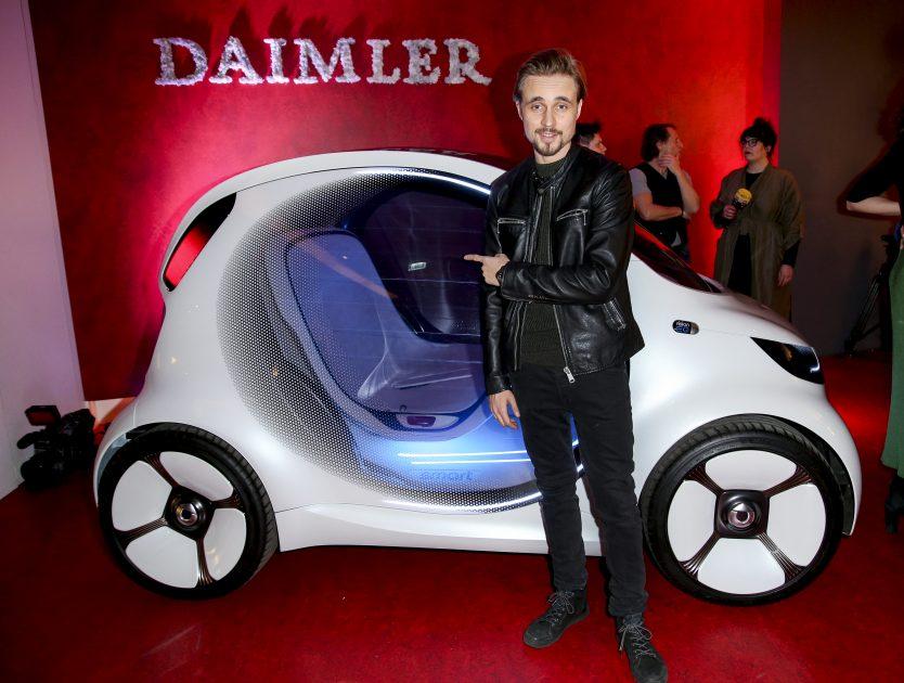 smart vision EQ fortwo im Daimler Salon Berlin