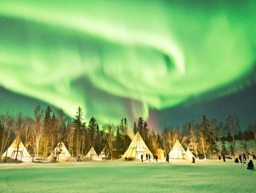 """Veranstaltungstipp in der Hauptstadt: """"Aurora – Wunder des Nordlichts"""""""