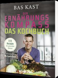 """Buchcover """"Der Ernährungskompass. Das Kochbuch."""""""