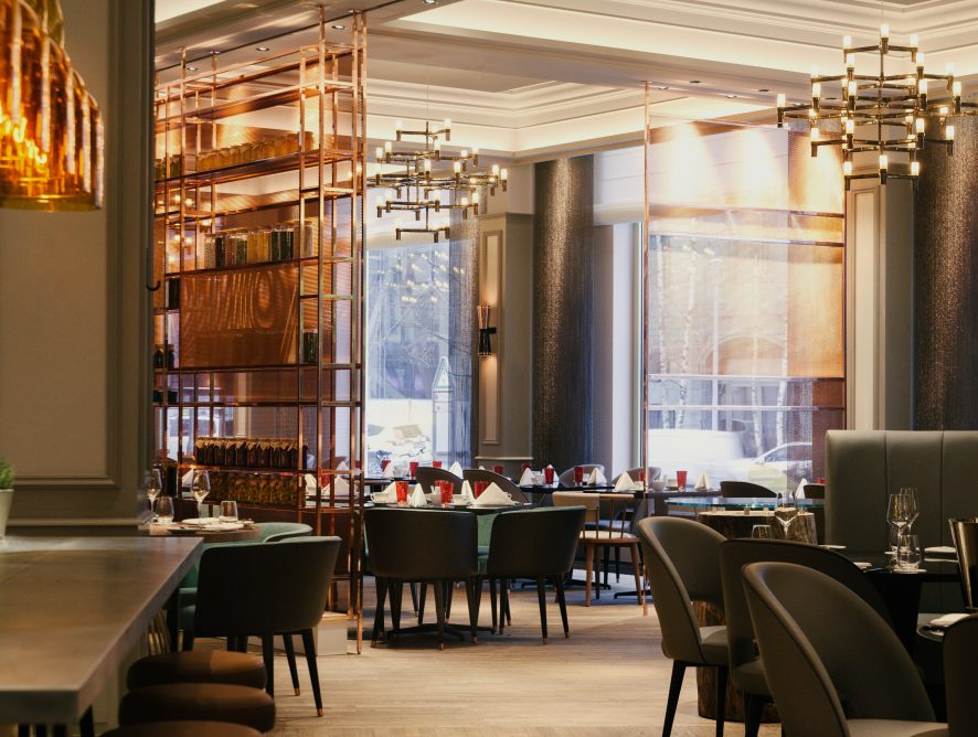 The Ritz Carlton erstrahlt im goldenen Glanz der Zwanzigerjahre Berlins