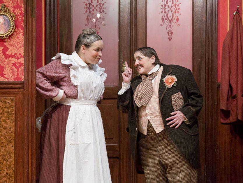 """Wiederaufnahme """"Der Raub der Sabinerinnen"""" im Schillertheater"""