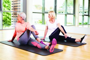 Aspria Trainingsmethoden Yoga und Pilates