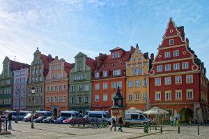 Die Altstadt Breslau.