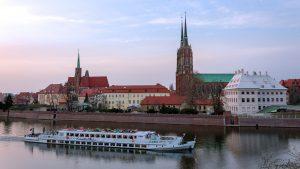 Die Dominsel von Breslau.