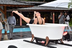 Die Wellnessoase Vabali Spa feiert 5jähriges Bestehen in Berlin am 06.06.2019.