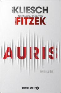 """Buchcover von dem Thriller """"Auris""""."""