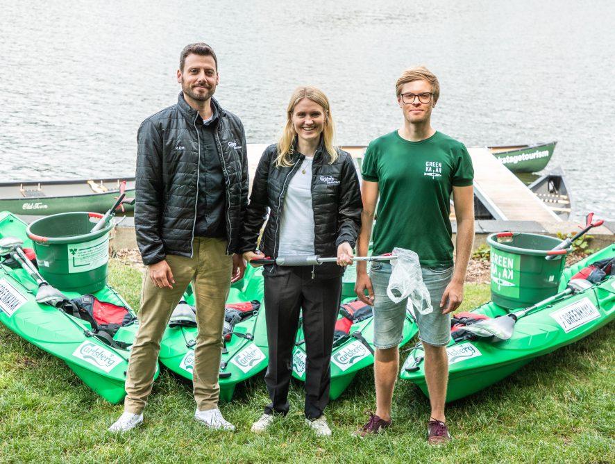 """Grüne Fahrt voraus! Carlsberg unterstützt """"GreenKayak"""""""