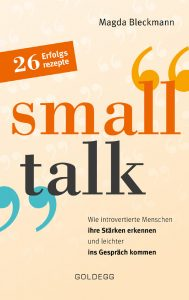 "Buchcover von dem Ratgeberbuch ""small talk""."