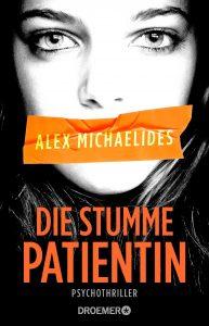 """Buchcover von dem Thriller """"Die stumme Patientin""""."""