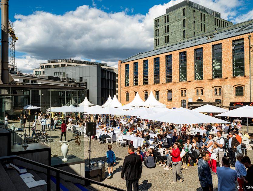 Königlicher Spaß für die ganze Familie - KPM Berlin feiert Hoffest