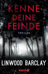 """Buchcover von dem Thriller """"Kenn deine Feinde""""."""