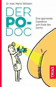 """Buchcover von dem Ratgeberbuch """"Der Po-Doc""""."""