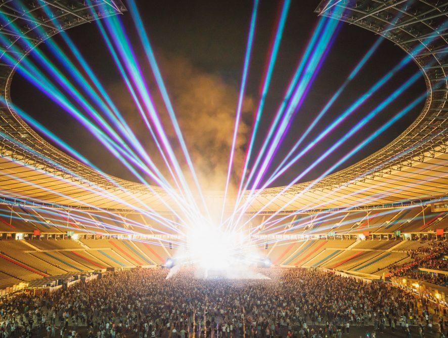 Feuerwerkskunst, Musikfestival, Art- und Food Week in Berlin