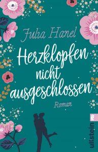 """Das Buchcover von """"Herzklopfen nicht ausgeschlossen"""". Ein Roman von Julia Hanel."""