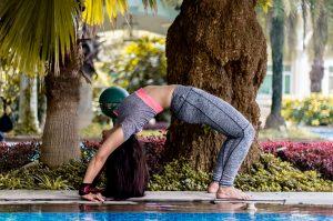 Yoga Rückenschmerzen Brücke