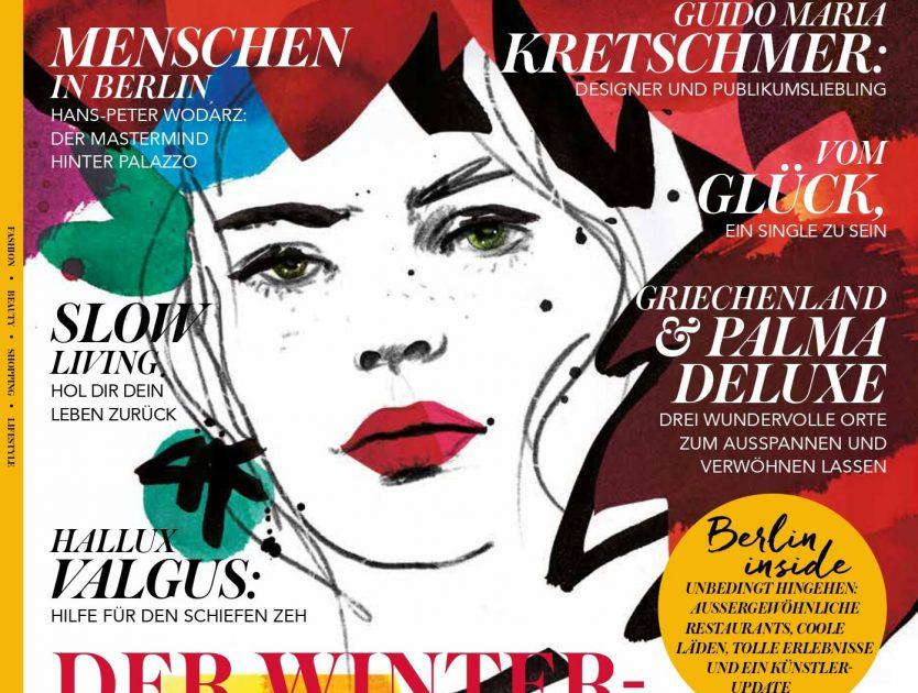 Es ist soweit: Die Berlinerin Oktober Ausgabe ist da
