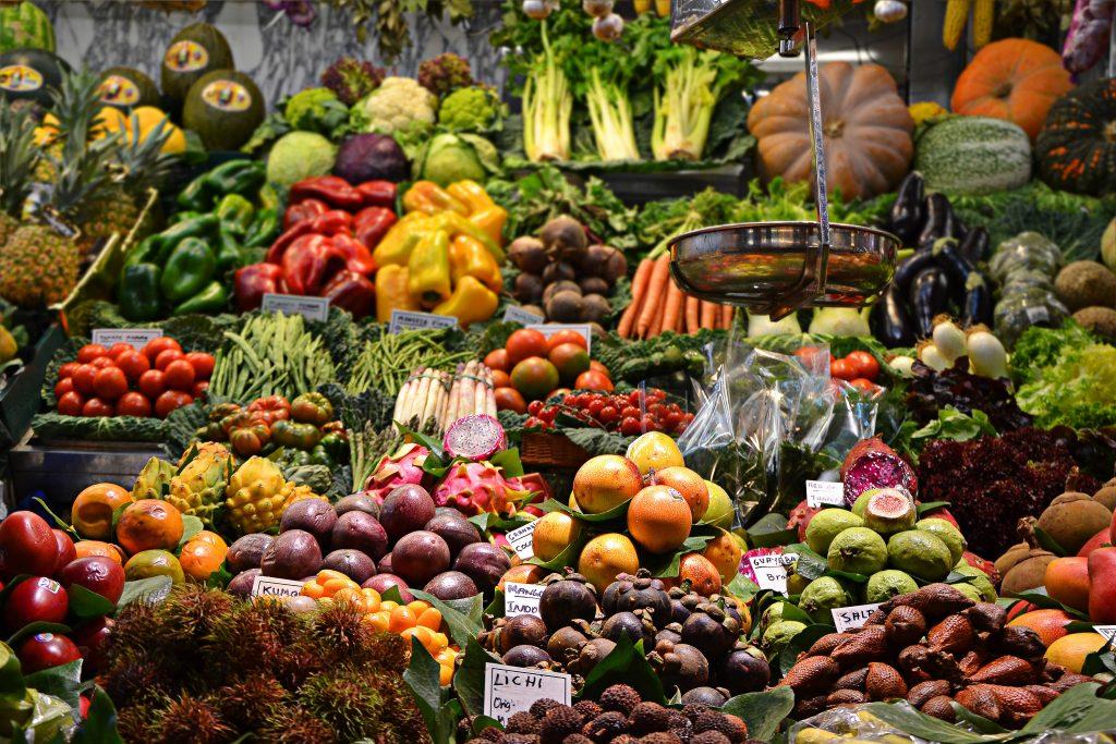 Gesunde Lebensmittel für schöne Haut
