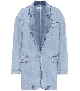 Blazer im Jeans-Look