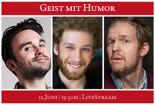 Schloßparktheater im Live-Stream: Kabarett & Comedy