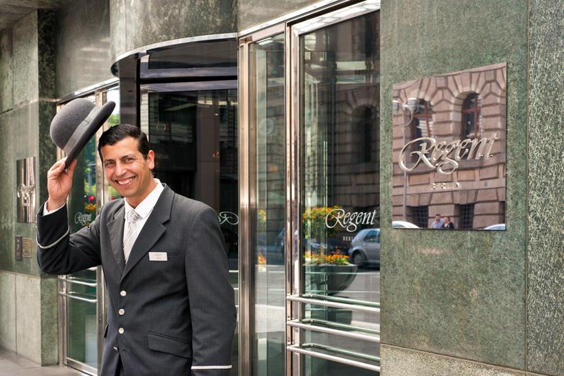Wiedereröffnung des REGENT Hotel in BERLIN