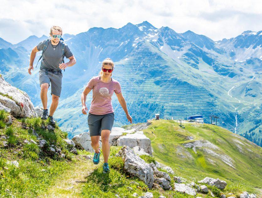 Wandern + Bergsteigen am Arlberg