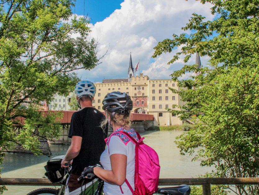 Kurzurlaub: Stadt Wasserburg am Inn